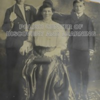 Victoria (Boron) Stusick and sons, Walter and Stanley Steven