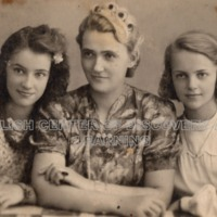 Krystyna's sister, Felicia, their mother,Marta, and Krystyna