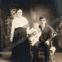 Mr. and Mrs. Jan Walas and daughter Mary